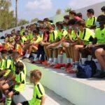 Niños aprendiendo en Profutcamps