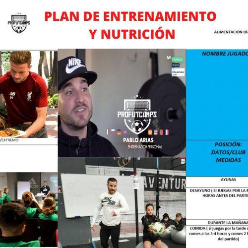 Plan de entrenamiento y nutrición